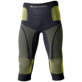 X-Bionic Accumulator Evo Medium Pants Men Charcoal/Yellow